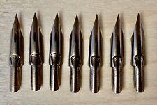 New listing 7 Vintage Esterbrook 048 Falcon Dip Pen Nibs