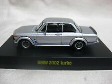 1:64 Kyosho BMW 2002 turbo Silver Diecast Model Car