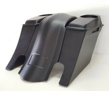 "Stretched Saddlebags Down Out 6"" Touring Harley Flh Bagger Overlay Fender 6.5"" 1"