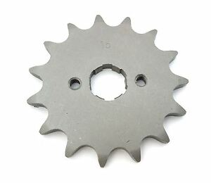Parts Unlimited Front Sprocket 15T - 520 - Honda CB / CL200 CR250 MR250 MT250