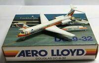 SCHABAK 1:600 SCALE DIECAST AERO LLOYD DOUGLAS DC-9-32 - 924/61