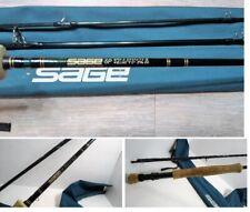 "SAGE SP 890-3 Graphite IV #8 9'0"" Durascrim Fly Rod 3 Piece w/Sock Beautiful EUC"