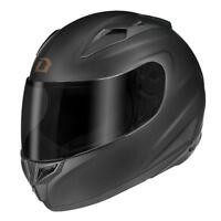 Dririder Redline F3R Matte Black Helmet