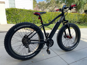 Electric Mountain Fat Tire Beach Bike Very Good Condition