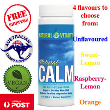 Natural Vitality, Natural Calm The Anti-Stress Drink 226 g, 4 Flavours to choose