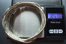 Armreif 925er Silber - Handarbeit - wenig getragen - Massiv - 2mm Silberdraht