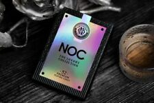 More details for noc luxury collection playing cards holographic limited edition foiled deck uk