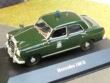 1/43 Ixo MB 180 Mercedes Polizei Deutschland POLICE CARS 8002
