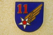 US USA USAF 11th Air Force Military Hat Lapel Pin