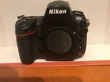 Nikon D700 Fx format 12.1Mp Digital Slr Camera w/batteries,charger&b attery grip