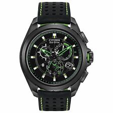 Citizen Eco-Drive Men's AT7035-01E Proximity Chronograph Bluetooth Green Watch