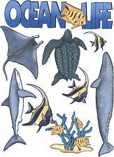 Ocean Life Scrapbook Die Cuts Quick Cropper Cuts Outdoors & More NEW