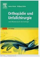 ORTHOPÄDIE UND UNFALLCHIRURGIE, Rössler / Rüther, NEU/OVP