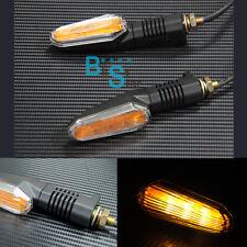 E-mark LED Lights Turn Signals Amber Blinker Suzuki DL650 V-STROM KATANA GSR600