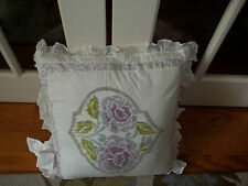 Nwt Dena Home French Lavender Square Decorative Bed Pillow 20x20
