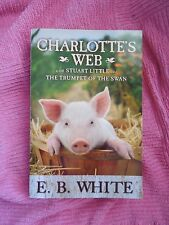 Charlotte's Web The Trumpet of the Swan Stuart Little by E.B. White PB 3 in 1