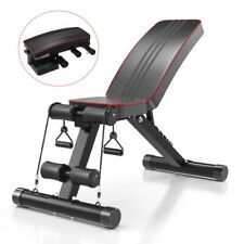 Abdominal Workout Bench Folding Ab Weight Bench Fitness Incline Decline Exercise