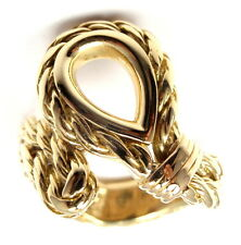 Rare! Authentic Tiffany & Co France 18k Yellow Gold Band Ring