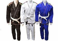 Az Brazilian Jiu Jitsu Martial Arts Uniform Gi W/ Free White Belt-Sl1270
