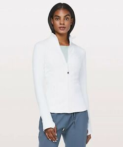 NWT Authentic lululemon define jacket in White size 12. Still In Wrapper!