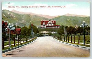 Hollywood CA~Holmby Ave~Arthur Letts Mansion~Broadway Department Store Owner~'08