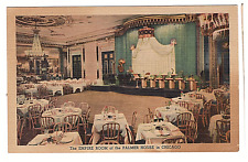 Vintage Postcard The Empire Room Palmer House Chicago  K3
