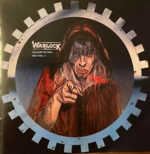WARLOCK - You Hurt My Soul + Live at Monsters of Rock (NEW*LIM.300*GER METAL)