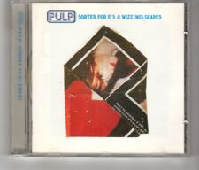 (HT581) Pulp, Sorted For E's & Wizz / Mis-Shapes - 1995 CD