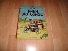 TINTIN AU CONGO LES AVENTURES DE TINTIN BY HERGÉ CASTERMAN E. EN FRANCES 1947