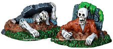 Lemax 22007 Zombies! Figurine Set of 2 Spooky Town Halloween Decor Zombies I