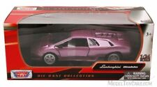 Lamborghini Diablo - Purple Classic Motormax 1/24 , Model Car