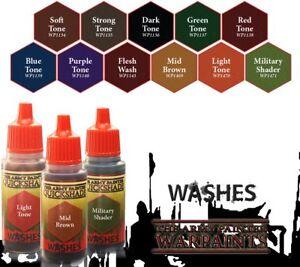 Army Painter Quickshade Washes Warpaints 18ml WPxxxx - Einzeln wählbar Wash Ink