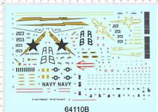 1/72 decals for F-14D TOMCAT VF-33 Tarsiers (64110B)