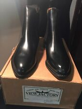 Hand made all leather English chelsea boots,size UK 7,8,9,10,11,12!$250 aud/pr!
