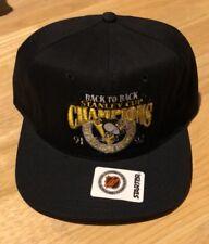 Vintage Starter Pittsburgh Penguins 1991 1992 Stanley Cup Champions Snapback Hat
