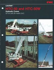 Equipment Brochure - Link-Belt - HTC-50 50W - Hydraulic Crane - 7 items (E4673)