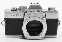Minolta SRT100 Gehäuse Body analoge Spiegelreflexkamera SLR Kamera