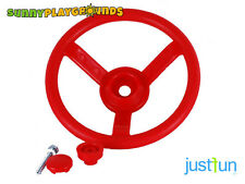 Plastic Steering Wheel Red Swing Seat Set Accessories Playset Playground