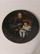 Knowles Collector Plate-Norman Rockwell-The Young Scholar-Used