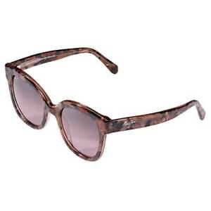 Maui Jim Honey Girl RS751-09A Blush Pink Sunglasses Polarized Maui Rose Lenses
