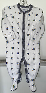 Ralph Lauren Signature Baby Footed Sleeper/Pajamas Size 6 Months