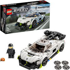 LEGO Speed Champions Koenigsegg Jesko, Konstruktionsspielzeug, weiß