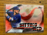 2018 Topps Finest Kris Bryant Sitting Red #SR-KB (Chicago Cubs) Hot!!! Look!!!