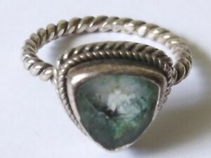 Vtg 925 Sterling Silver Ring SIZE 7 (5.0 grams) A-