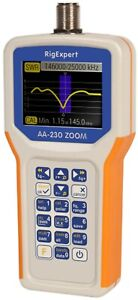 RigExpert AA-230 Zoom Antenna Analyzer 100 KHz to 230 MHz New in Box Guaranteed