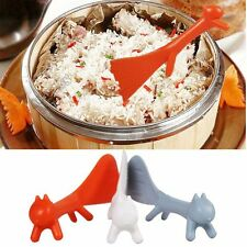 New Cookware Plastic Reusable Shape Ladle Animal Spoon Paddle Rice Scoop