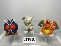 Pokemon Bandai hallow Figures X3 mix 96-97-98-99's BUNDLE 6