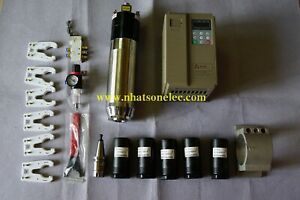 Combo ATC Tool Change Spindle Motor  BT30 3kw 2krpm~18krpm+NBT30+VFD+Accessories