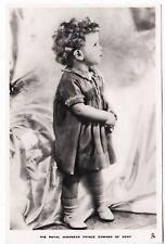 * RAPHAEL TUCK - Prince Edward of Kent - Real Photo #5415b - c1930s era postcard