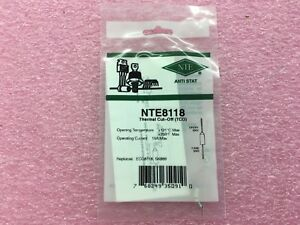 (15 PIECE LOT) NTE8118, NTE, Thermal Cutoff (Thermal Fuse)